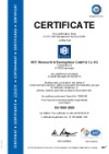 Quality management system DIN ISO 9001:2015