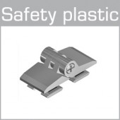 33-05142 / 33-05143  with stop function at 90° Safety plastic
