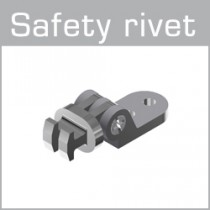 51-05000 / 33-04555 Safety rivet