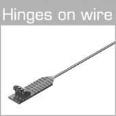70-01037 Hinges on wire Size XL