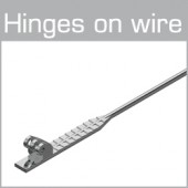70-07765 Hinges on wire Size L