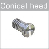 99-018XX Conical head screws plus-minus head