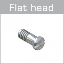 99-017XX Flat head screws with plus-minus head
