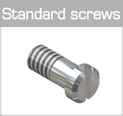 Standard screws (minus head)