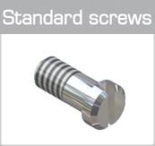 Standard screws (minus head)
