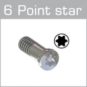 99-047XX Flat head screws with Torx head